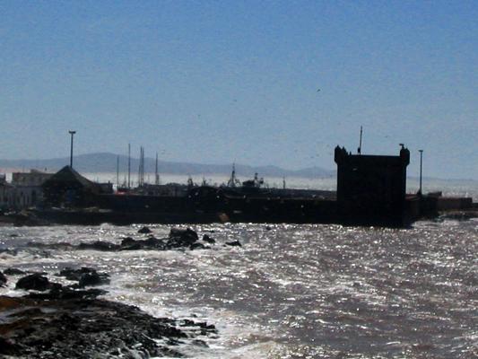 Essaouria - Rough seas on the North Atlantic coast